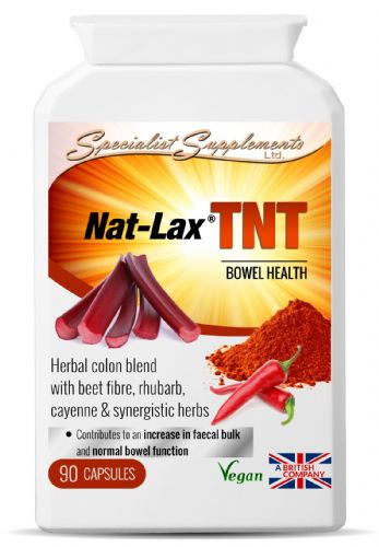 Nat-Lax TNT - Herbal Colon Blend/Bowel Health Supplement